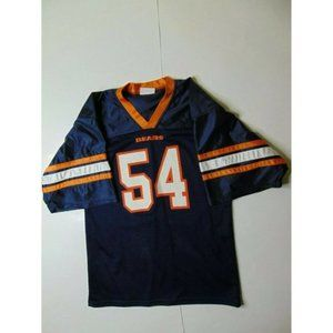 Teamwork Athletic S Chicago Bears Jersey #54 Blue